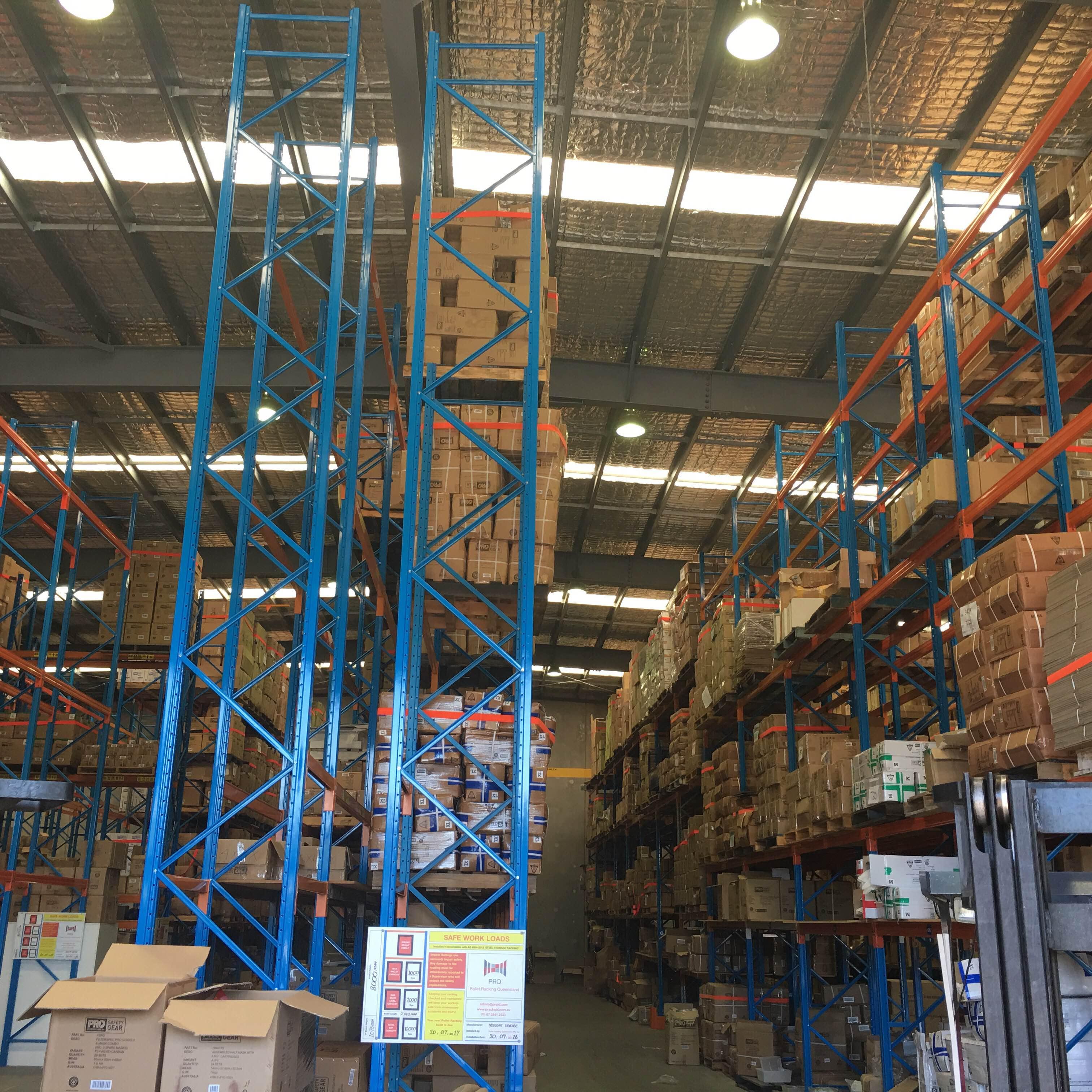 Dexion, pallet racking, warehousing. redesigning warehouse