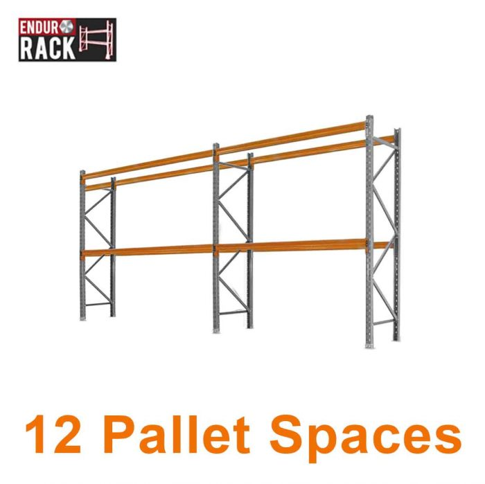 12 Pallet Spaces, Pallet racking, Queensland