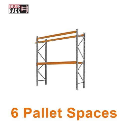 6 Pallet Spaces, Pallet Racking, Pallet