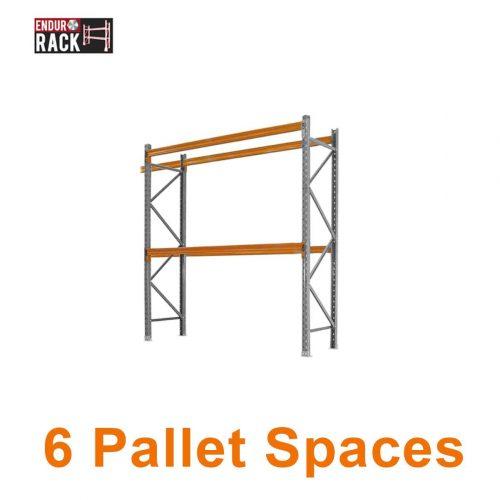 6 Pallet Spaces, Pallet Racking, Pallet