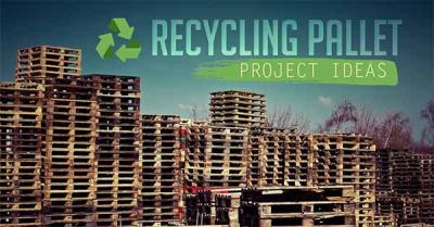 Recycling, Recycling pallet