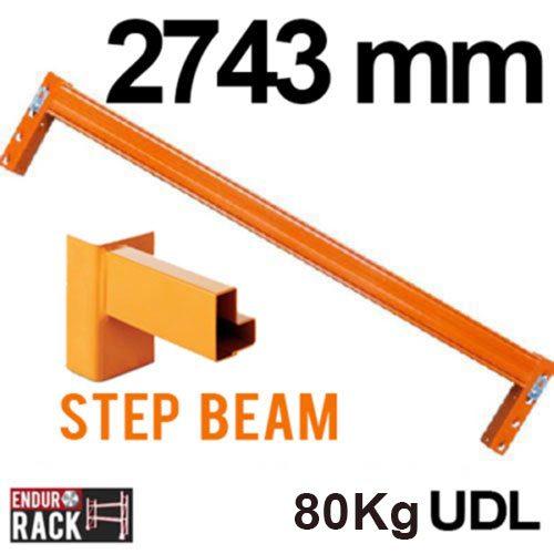 Endurorack step beam, step beam, pallet racking, beam