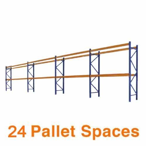 24 pallet spaces