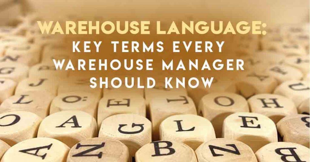 Warehouse language, warehouse management