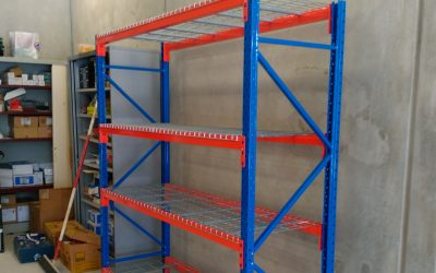 Side View | Narrow Aisle Racking