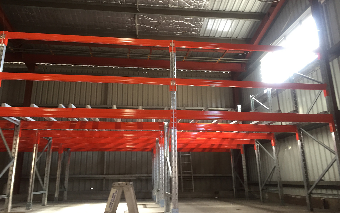 Front View | Narrow Aisle Racking