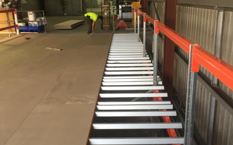 Installing Narrow Aisle Racking