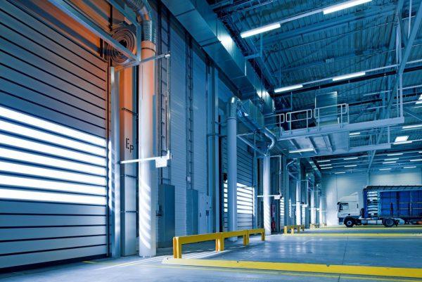 an empty warehouse